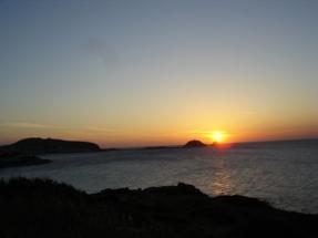 Coucher de soleil à Ile Rousse