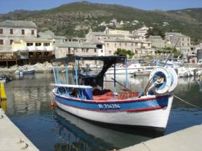 Port de Centuri (au cap Corse)